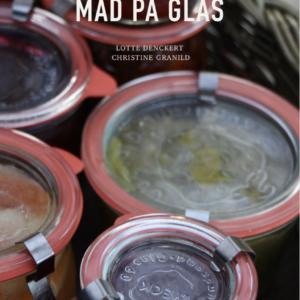 en lille syltebog mad på glas